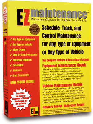 equipment maintenance software, maintenance management software